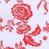 HANA 120 Chlupkal (213012-1-3 Růže červená)-141cm / METRÁŽ NA MÍRU