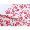 HANA 120 Chlupkal (213012-1-3 Růže červená)-141cm / VELKOOBCHOD