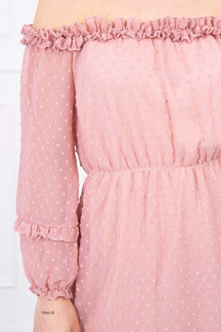 eng_pm_Off-the-shoulder-dress-with-frills-dark-pink-17373_4