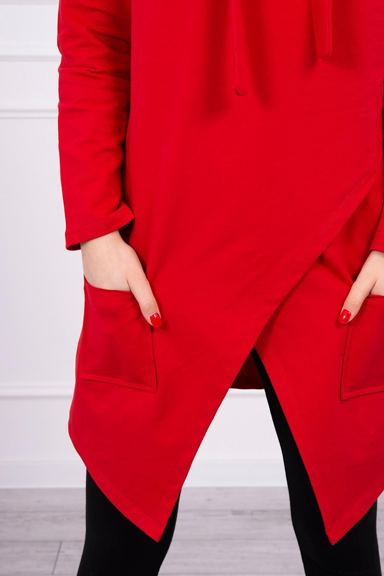 eng_pl_Tunic-with-envelope-front-Oversize-red-16227_4