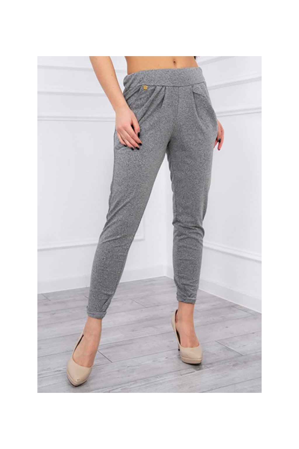 38682 2 eng pm sports trousers with wrinkles gray 607 3