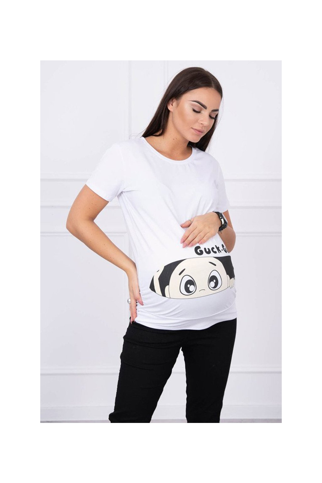eng pm Maternity blouse Guck white 14247 1