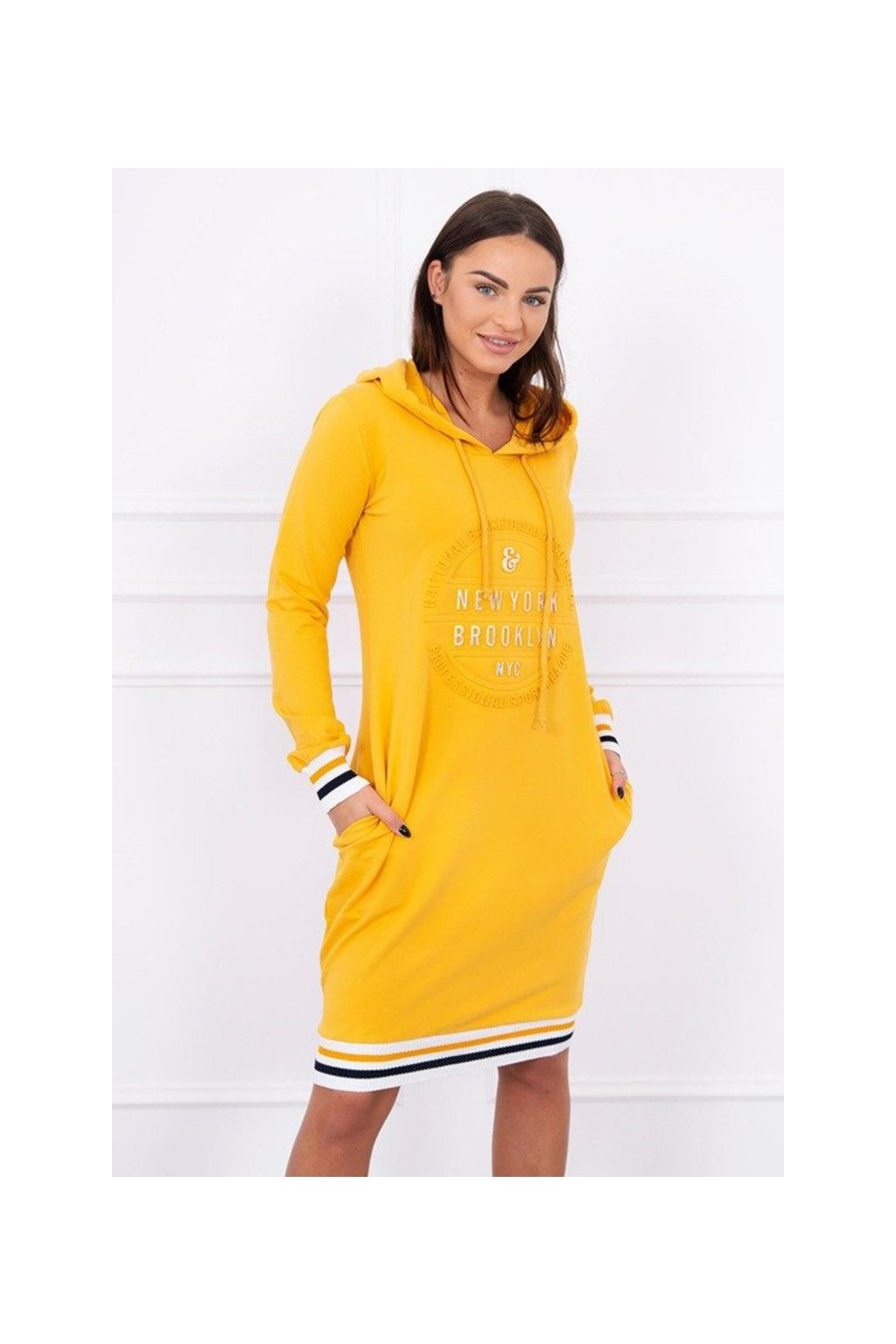 eng pm Dress Brooklyn mustard 13389 4