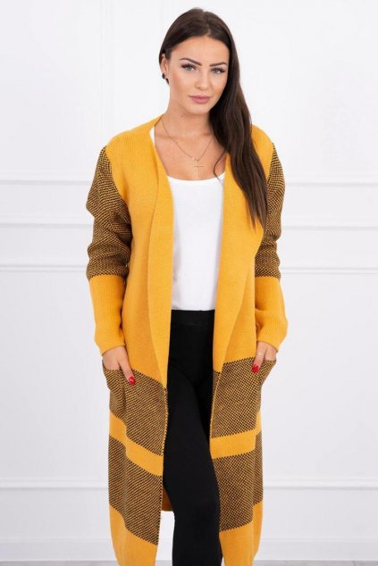eng pl Lapel sweater mustard 15811 3