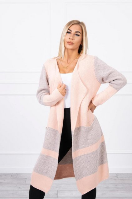 eng pl Lapel sweater peach 15813 3