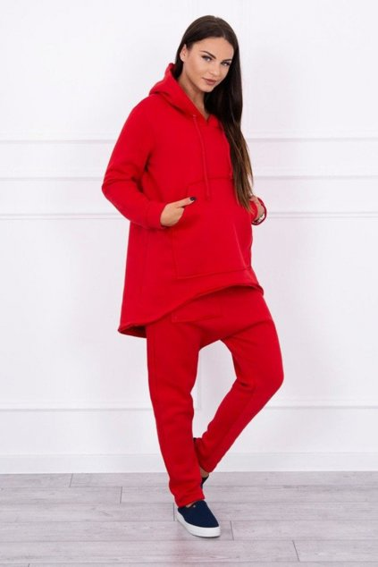 eng pm Set with pants Baggy red 12981 1