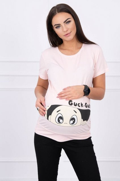 eng pm Maternity blouse Guck powdered pink 14249 1