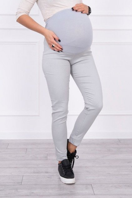 eng pm Maternity pants colored jeans gray 16026 2
