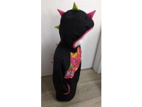 Softshellová DINO bunda - černá