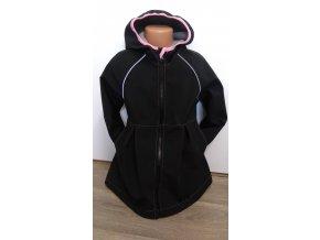 Softshellový kabátek - černý