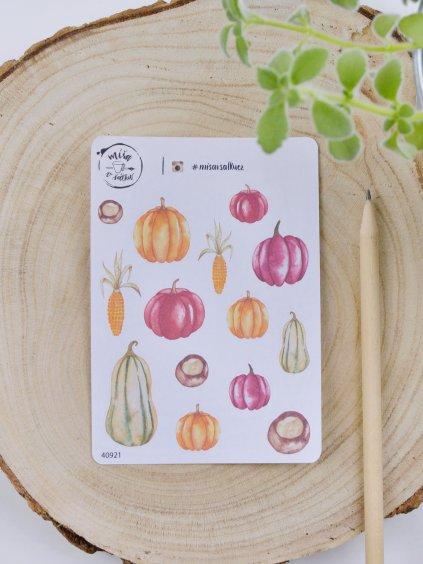 Samolepky - Podzimní sklizeň