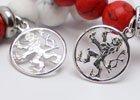 Náramky s ozdobami ze stříbra Ag925