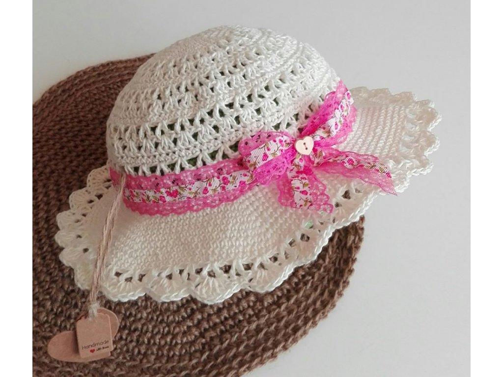 dámský lněný klobouk 39,