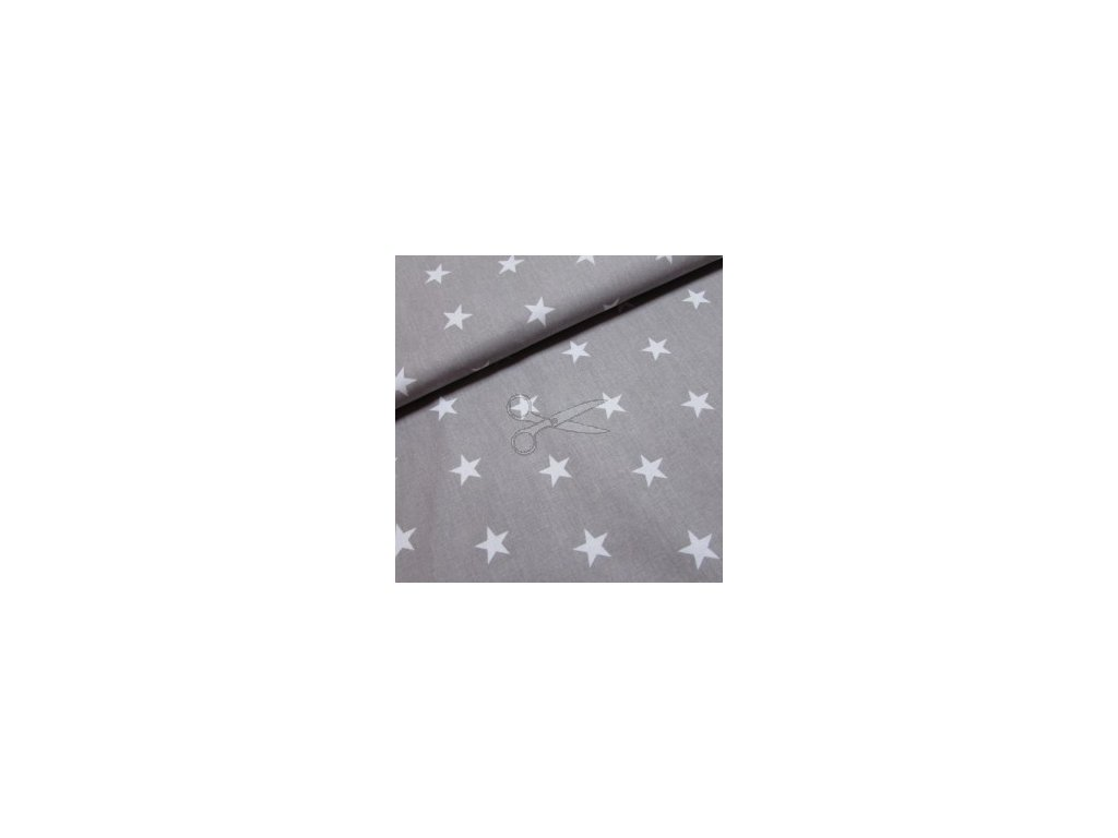 hvězdy na šedé