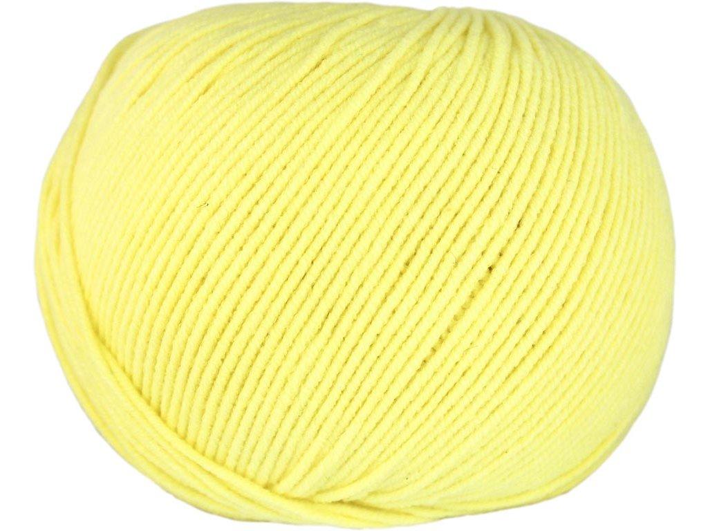 Jeans 8183 světle žlutá