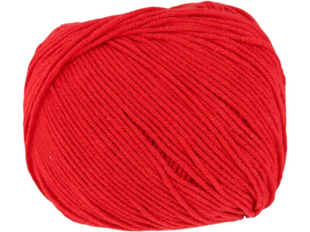 Jeans 8008 červená