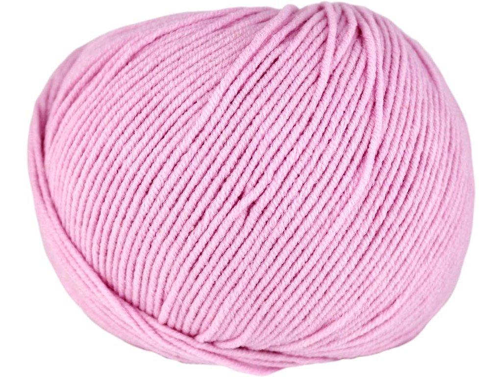 Jeans 8038 světle růžová