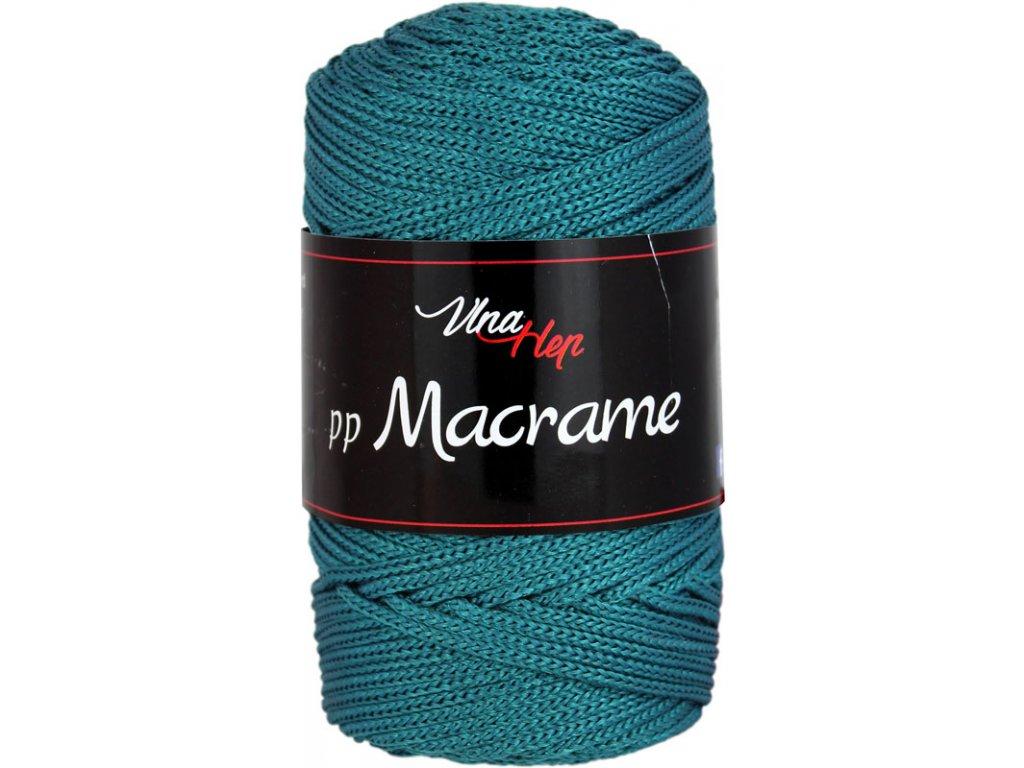PP Macrame 4132 smaragdová