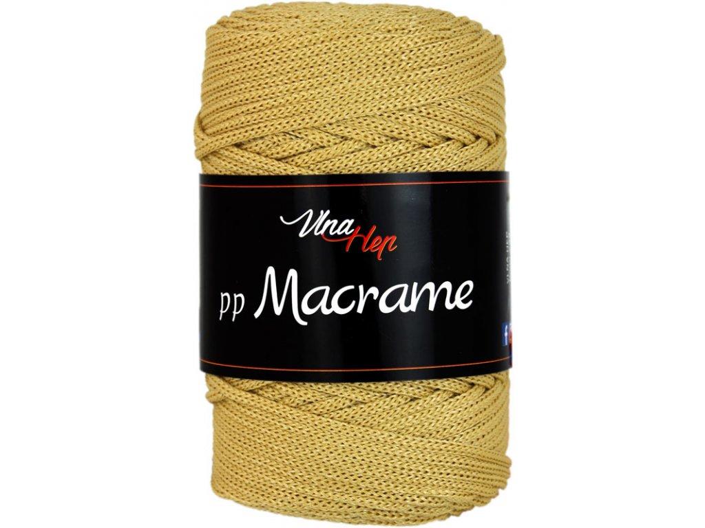 PP Macrame 4190 hořčice