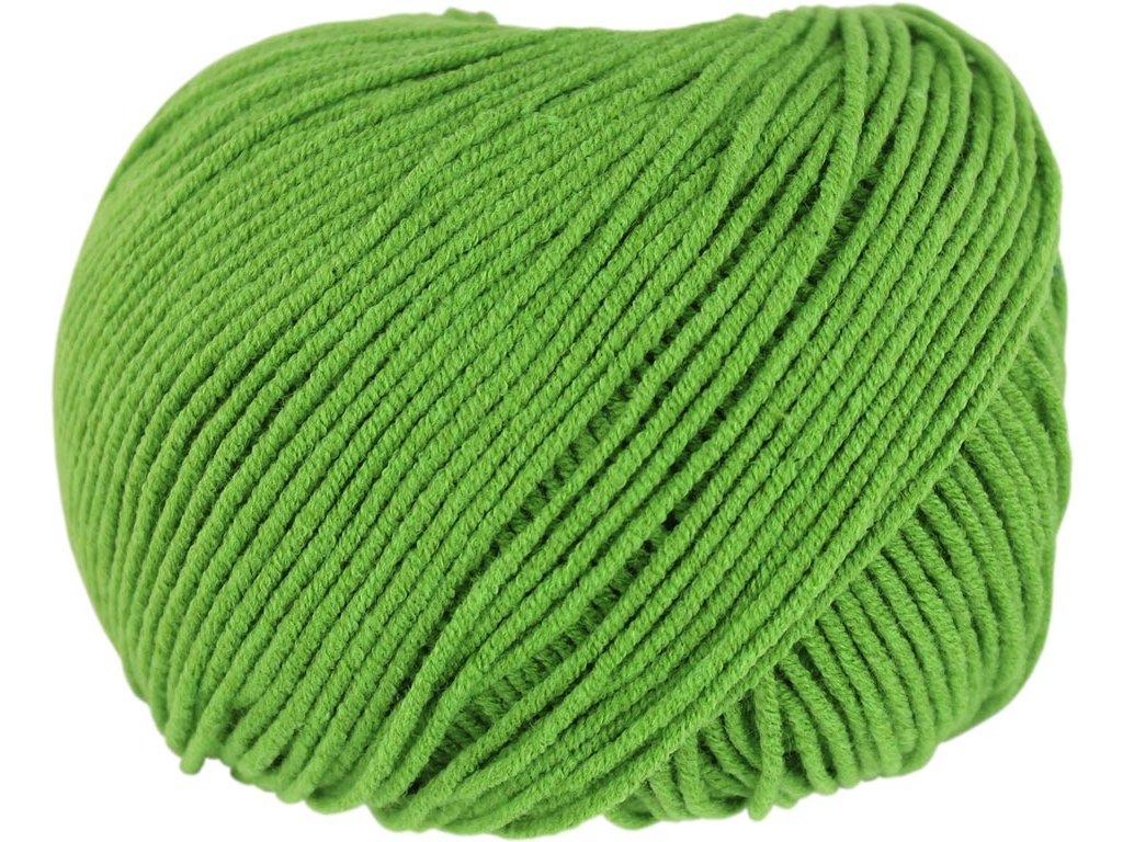 Jeans 8156 listová zelená