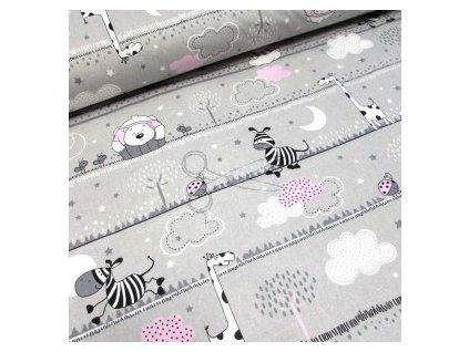 zebra růžová