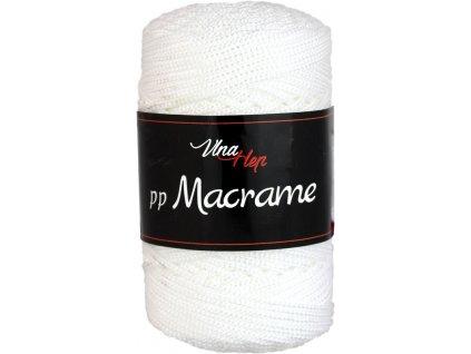 PP Macrame 4002 bílá