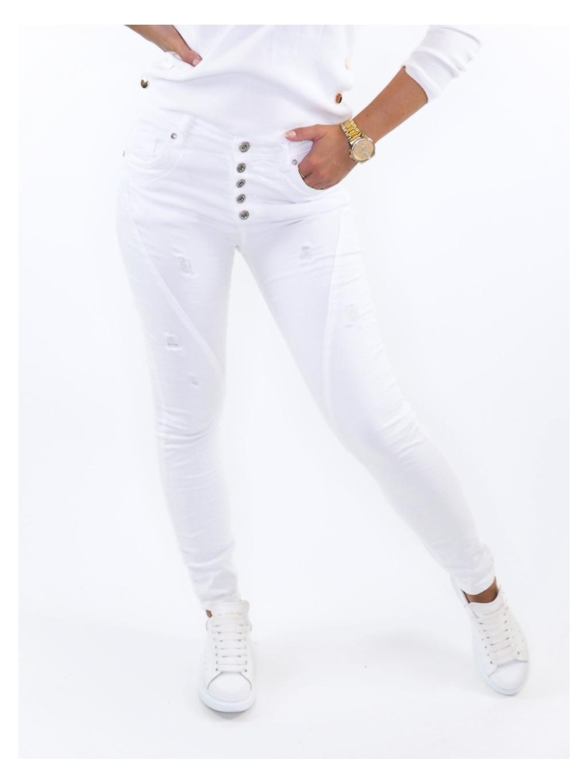 Bílé kalhoty TALIA WHITE