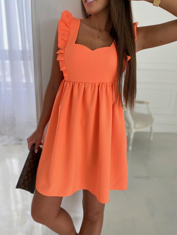 Šaty LAVENDER - orange
