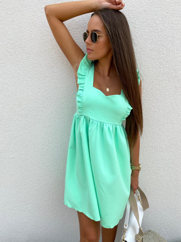 Šaty LAVENDER zelená