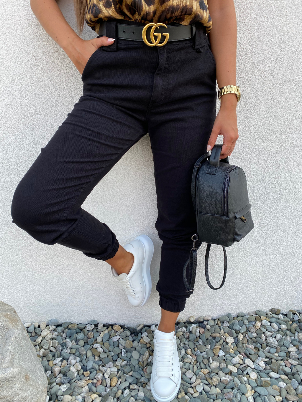 Kalhoty CALIFORNIA černá
