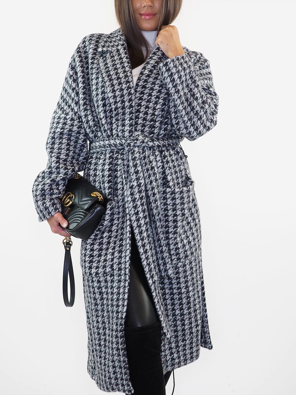Luxusní kašmírový kabát