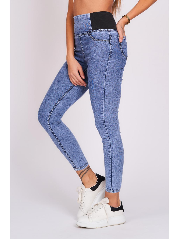 Elastické kalhoty BLUE