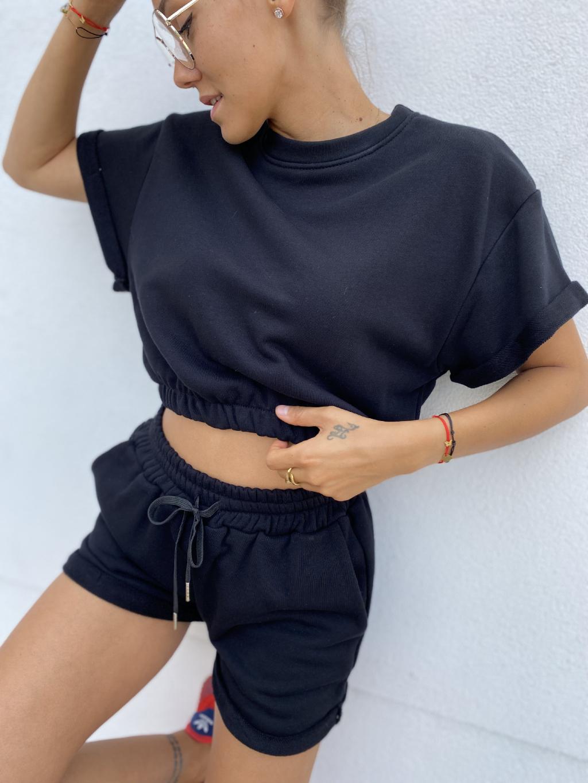 Komplet RENEE SWEAT černá