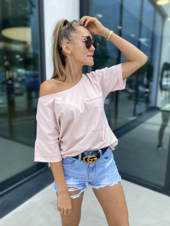 Triko Pocket růžová