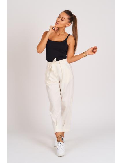 Kalhoty LAGO bílá
