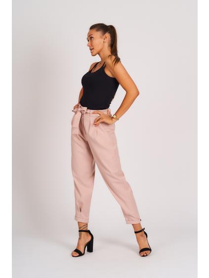 Kalhoty LAGO růžová