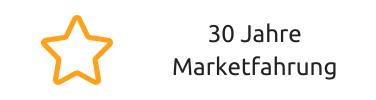 29 Jahre Marketfahrung