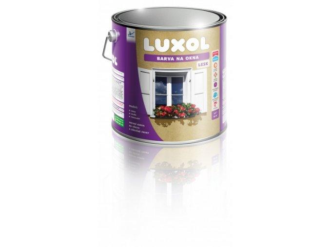 LUXOL Barva na okna/lesk bílá