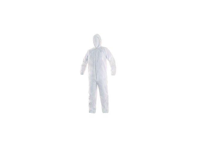 Jednorázový oblek OVERAL Bílý