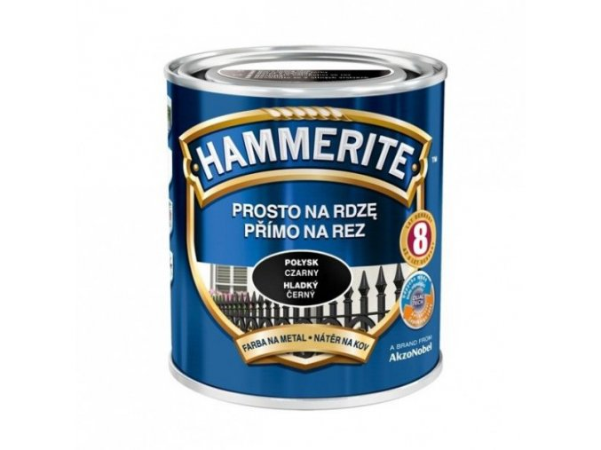 Hammerite Přímo na rez hladký/0,7l