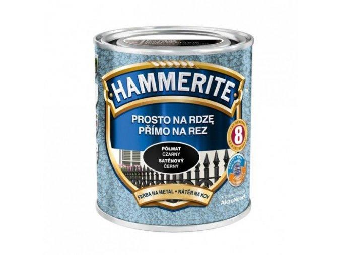 Hammerite Přímo na rez kladívkový/2,5l