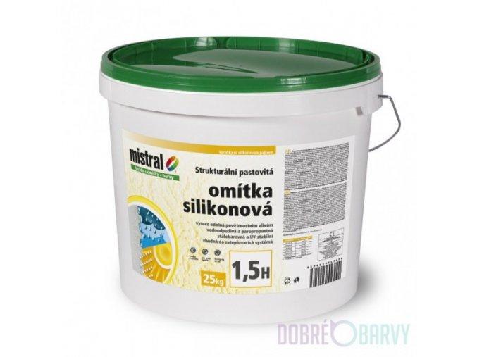 Mistral omítka silikonová/bezpříplatkový/Symphony/25kg
