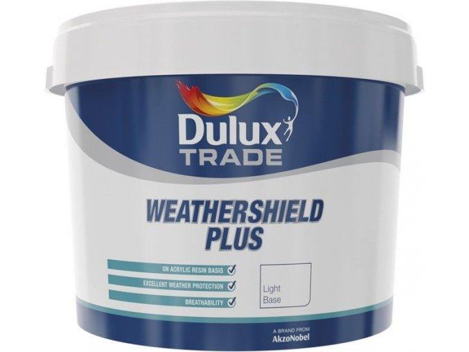 Dulux Trade Weathershield Plus Bílá