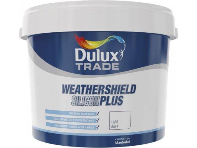 Dulux Weathershield Silicon Plus Bílá