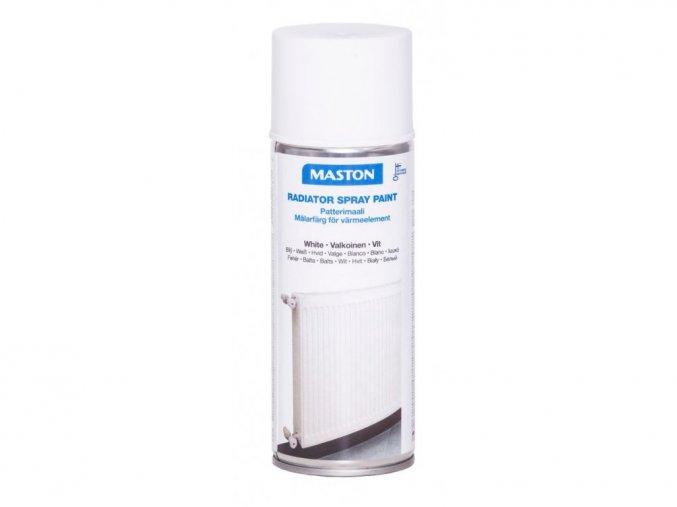 138717 maston spray radiator white gloss bila leskla 400ml