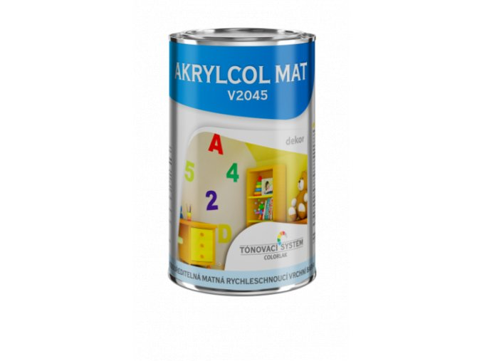 AKRYLCOL MAT BÁZE V2045