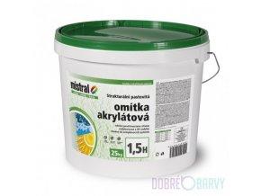 Mistral omítka akrylát/příplatkový/Symphony/25kg