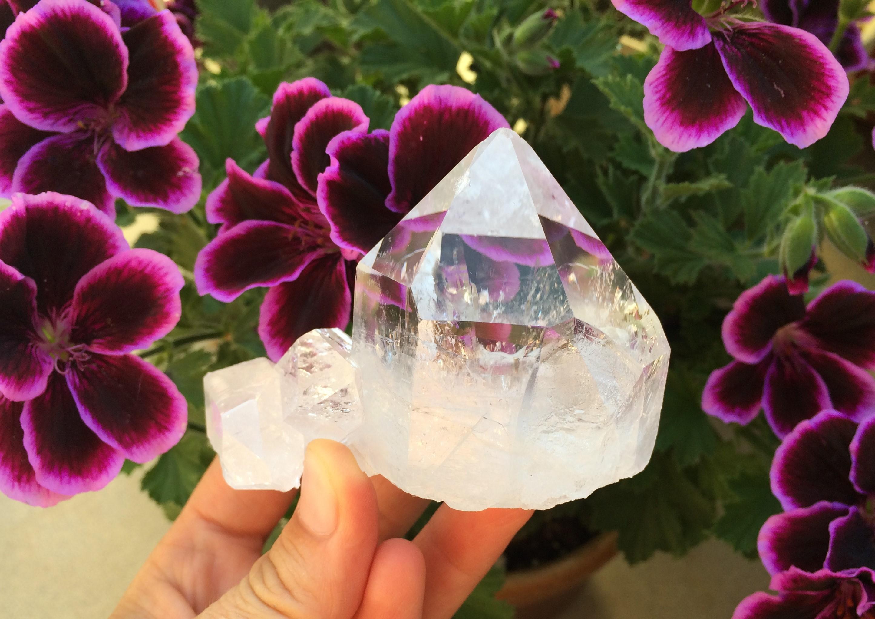 Práce s krystaly - vylaďování