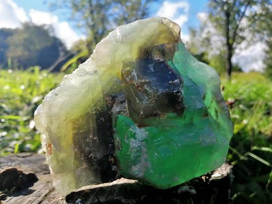 Zelený kalcit
