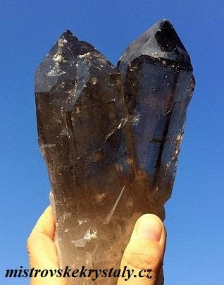 Články a prodej krystalů a kamenů záhnědy